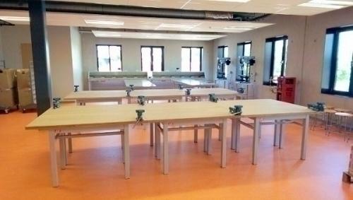Technieklokaal, lokaalinrichting De Beuk