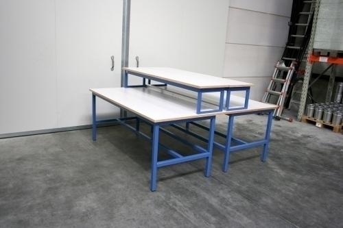 Practicumtafels met opbouw